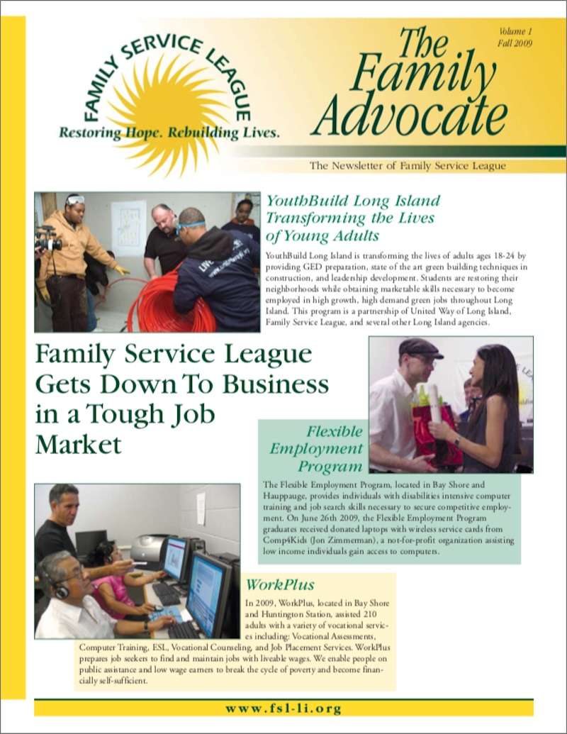 Newsletter Fall 2009