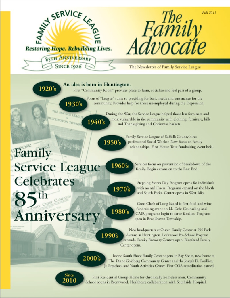 Newsletter Fall 2011