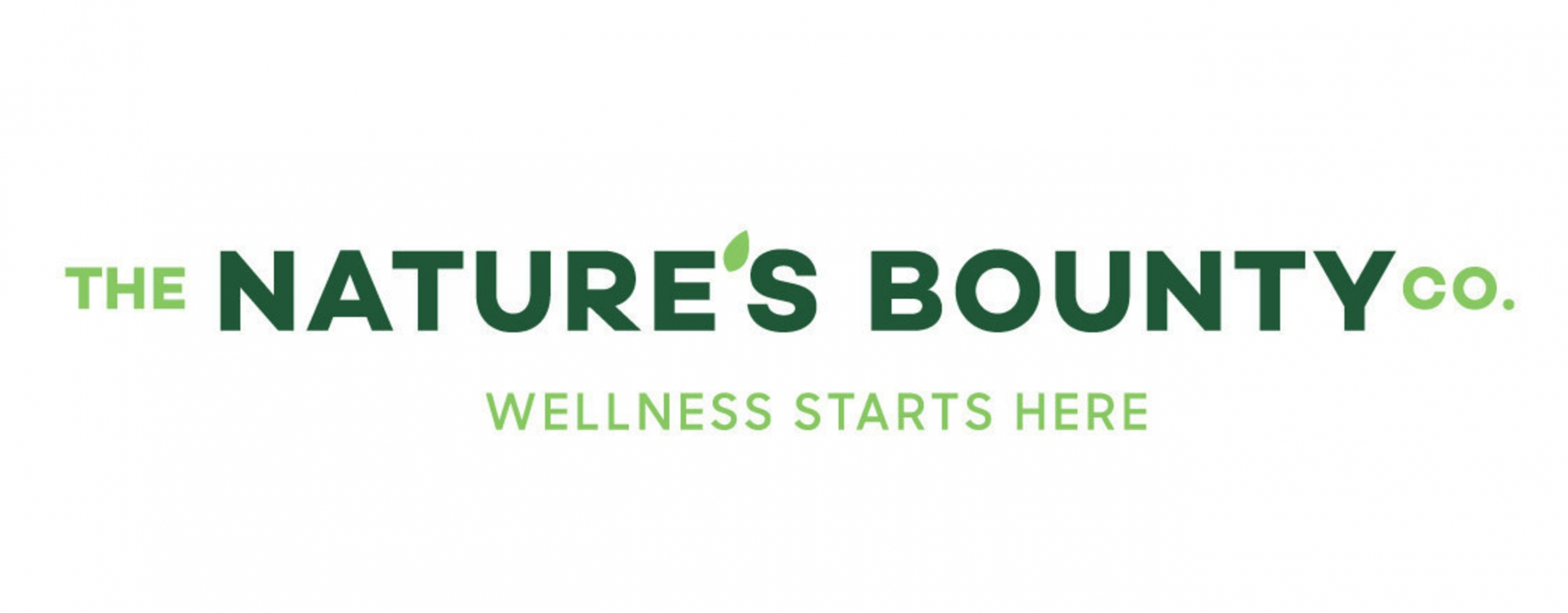 The Nature's Bounty Co. Wellness Starts Here.