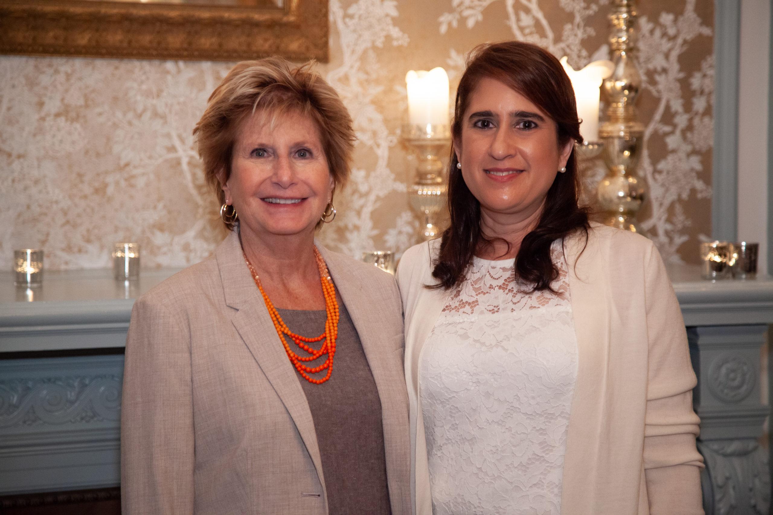 Karen Boorshtein, FSL President and CEO, and Laura Granelli,